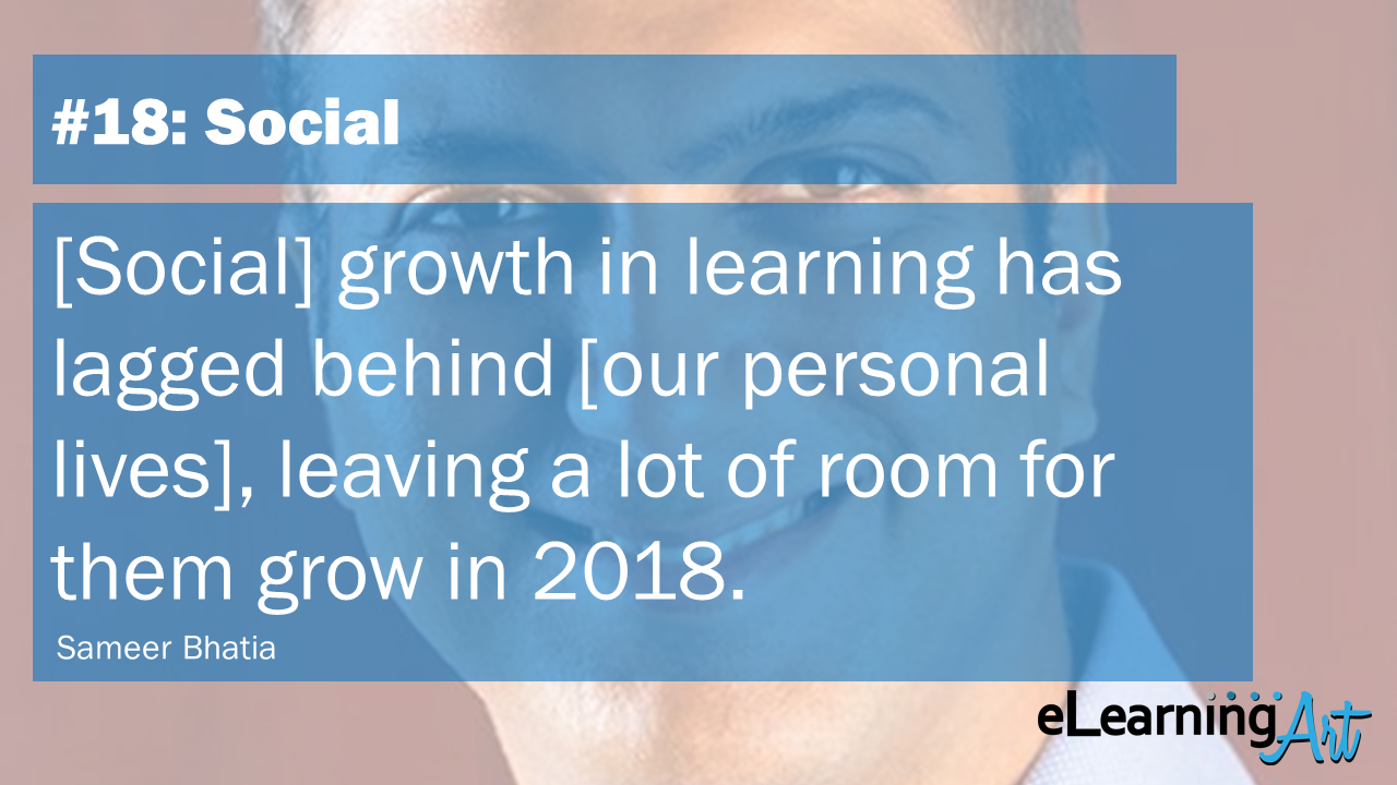 eLearning Trends of 2018 – 57 Experts Share Their Predictions