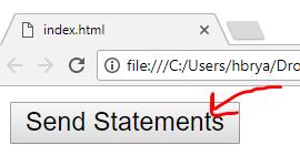 Send statements button