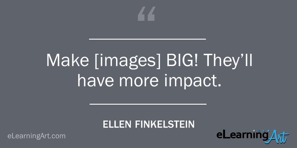 Presentation Tip- Make Images Big