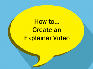 How to create an explainer video for training
