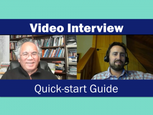 How to record a video interview for free on your computer