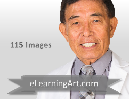 John - Asian Man in a lab coat