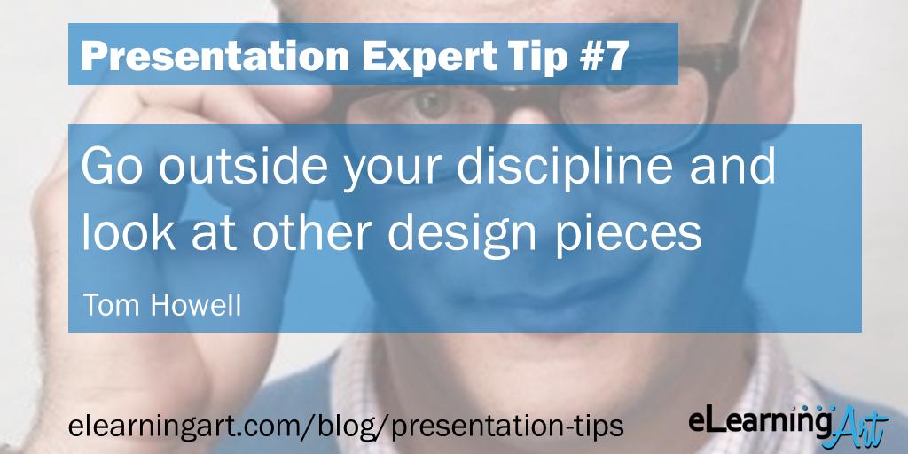 Presentation Design Tip - Tom Howell