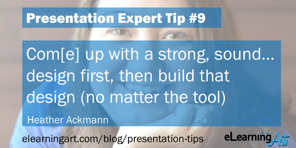 Presentation Tools Tip - Heather Ackmann