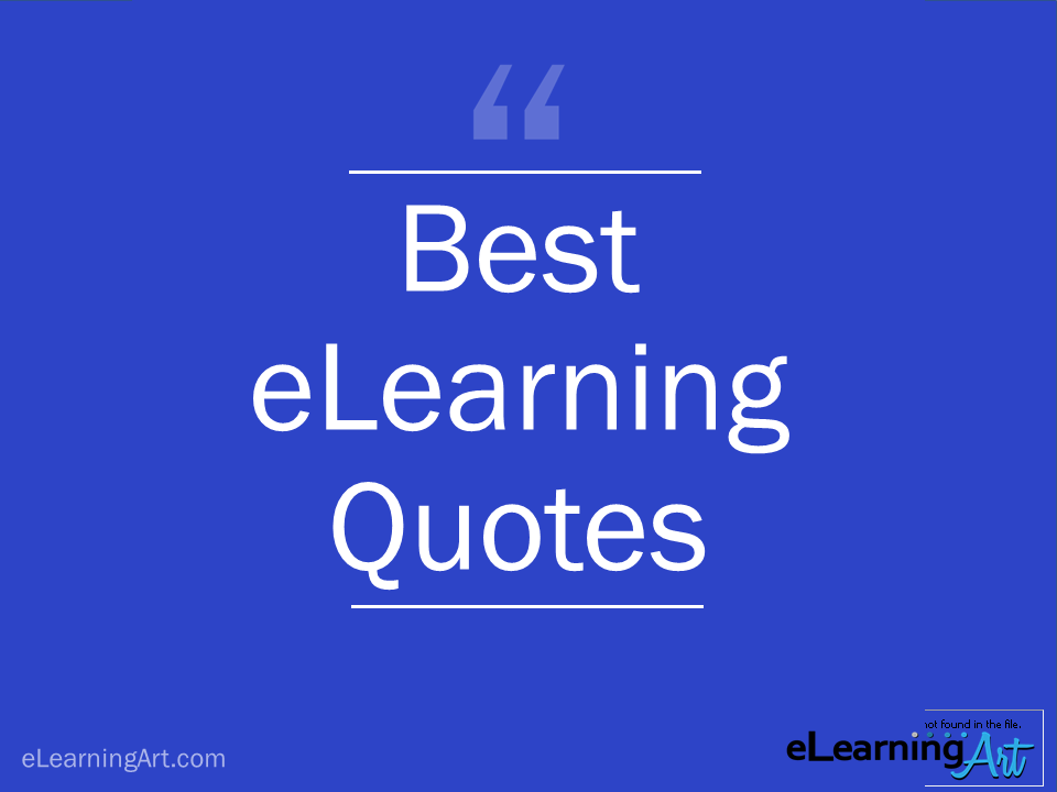 Best eLearning Quotes