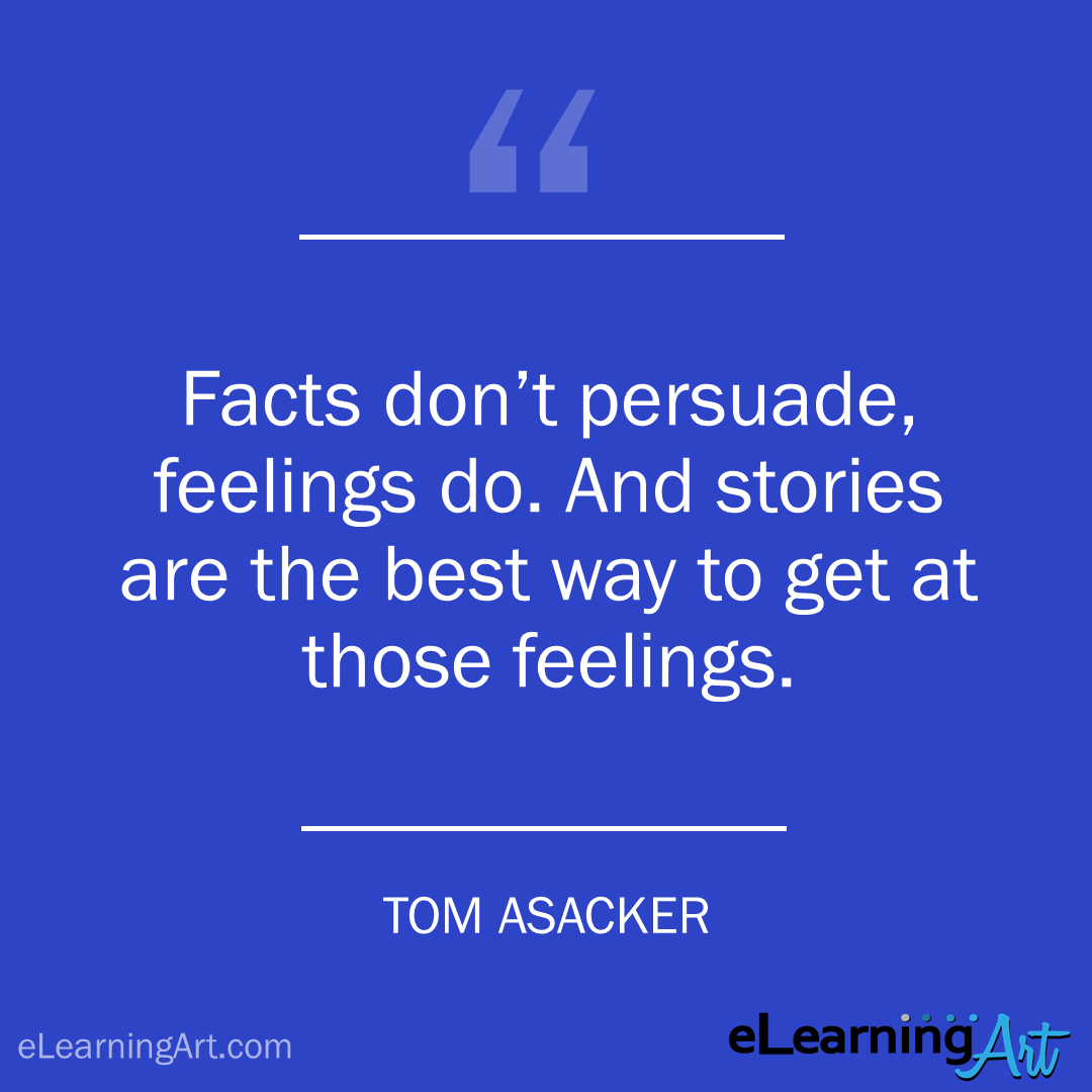 storytelling quote tom asacker