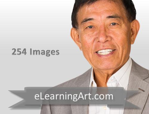 John - Asian Man in Business Casual