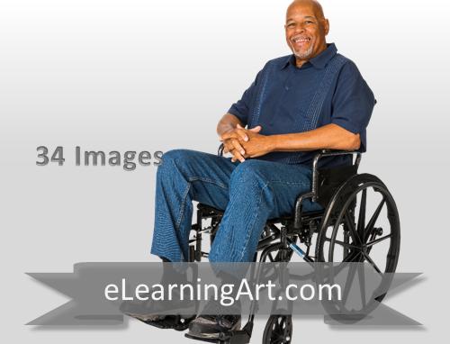 Alan - Black Man in a Wheelchair