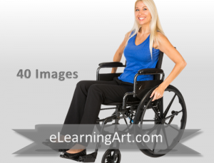 Christy - White Woman in a Wheelchair