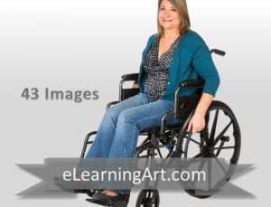 Diane - Hispanic Woman in a Wheelchair