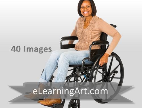 Shannon - Black Woman in a Wheelchair
