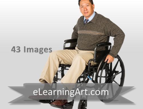 Tony - Asian Man in a Wheelchair