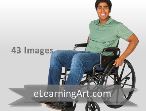 Will - Hispanic Man in a Wheelchair