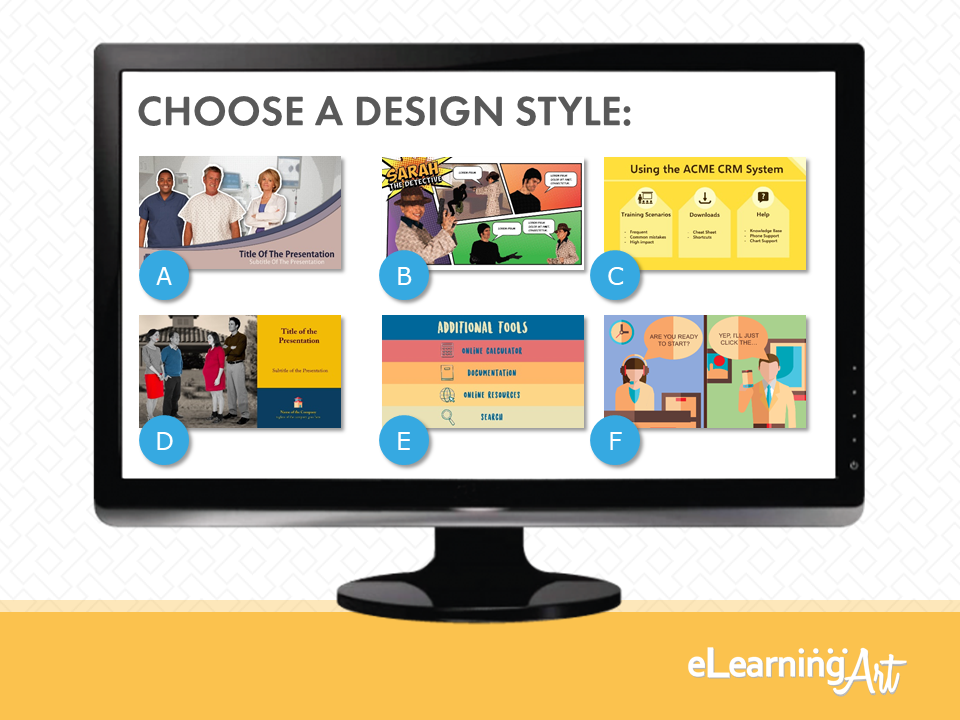 eLearningArt_Design_Conversation_Choose-Design-Style