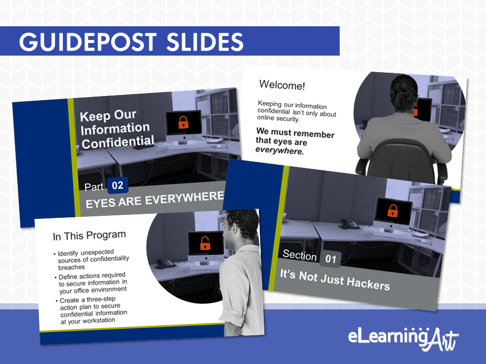 eLearningArt_Slide_Development_006_guidepost-slide-examples