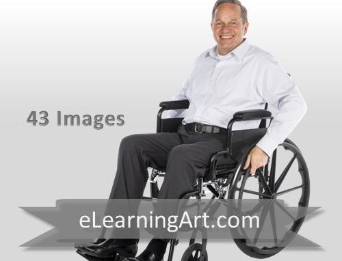 Frank - White Man in a Wheelchair