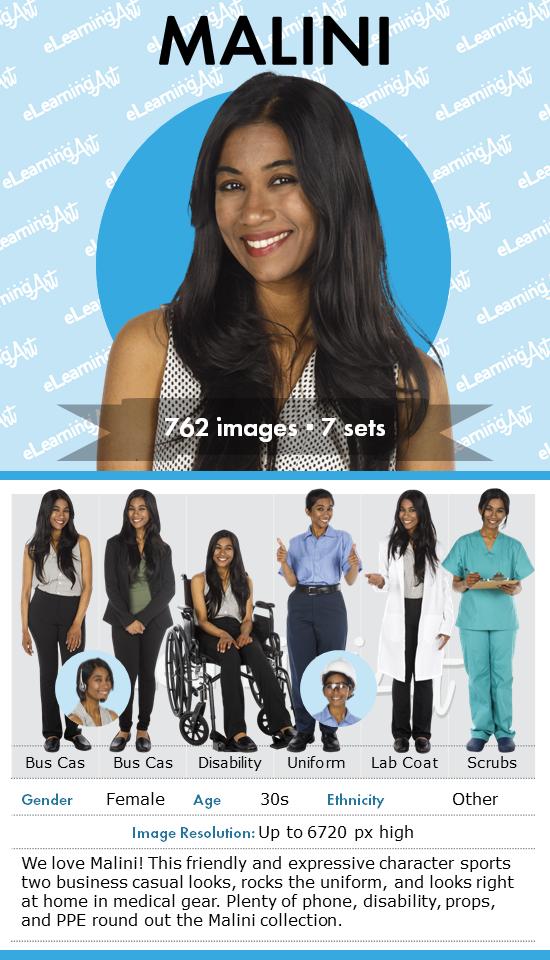 eLearningArt_August_2019_Malini_character_card