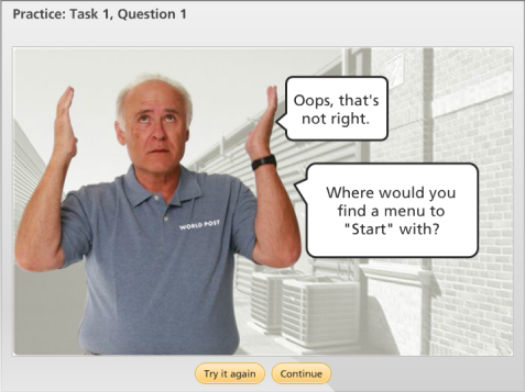 eLearning Example - Sales Mobility Training
