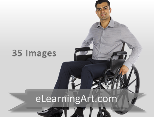 Hakim- Indian Man in a Wheelchair