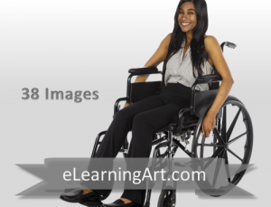 Malini - Indian Woman in a Wheelchair