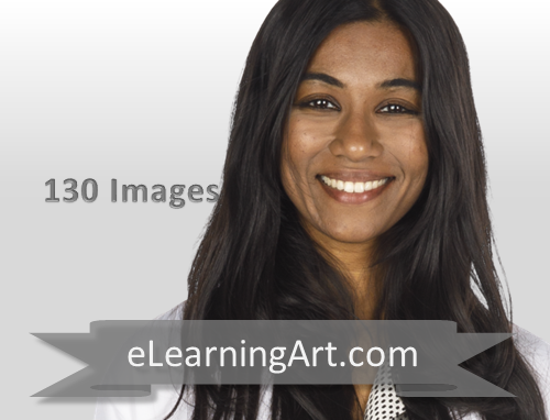 Malini - Indian Woman in a Lab Coat