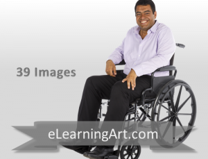 Raj - Indian Man in a Wheelchair