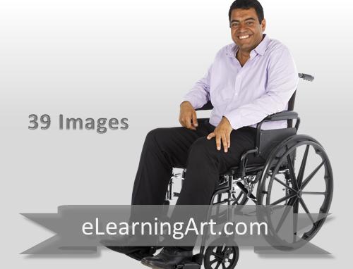 Raj - Indian Man in a Wheelchair
