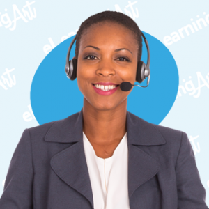 eLearning Characters on the Phone