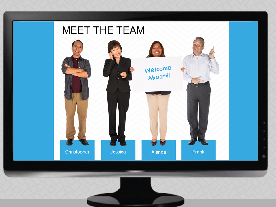 PowerPoint eLearning Characters - Cut Out People Images for PowerPoint