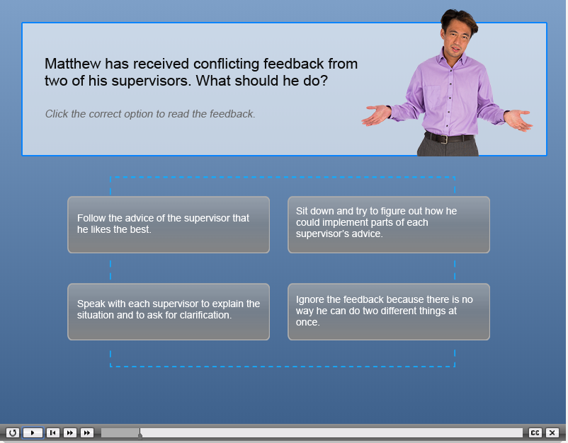 Adobe Captivate Example - Quiz Scenario
