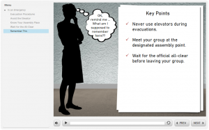 Articulate Storyline Example - Silhouette Template Knowledge Check