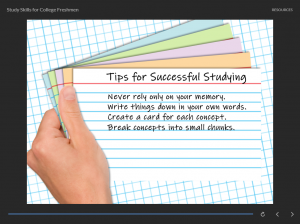 Articulate Storyline Example - Hands With Note Cards