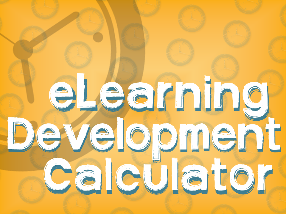 eLearning Development Calculator