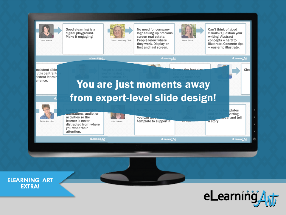 eLearning Slide Design Tips