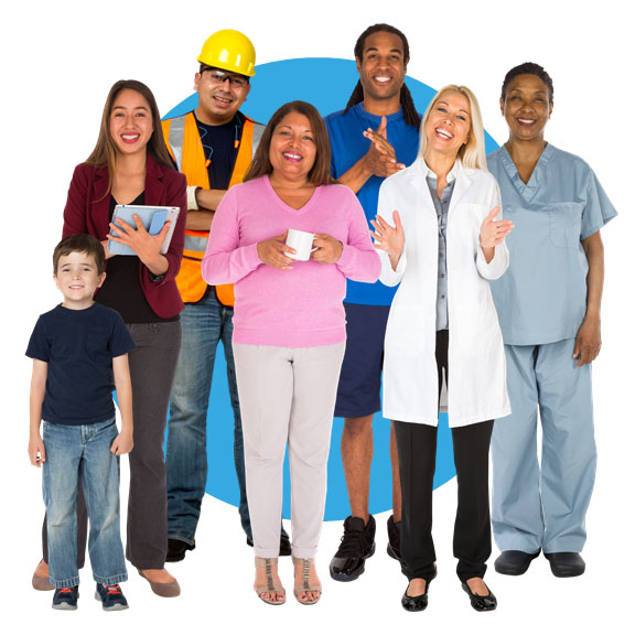 eLearning Characters - Photo Cut Out Images of People in Many Outfits