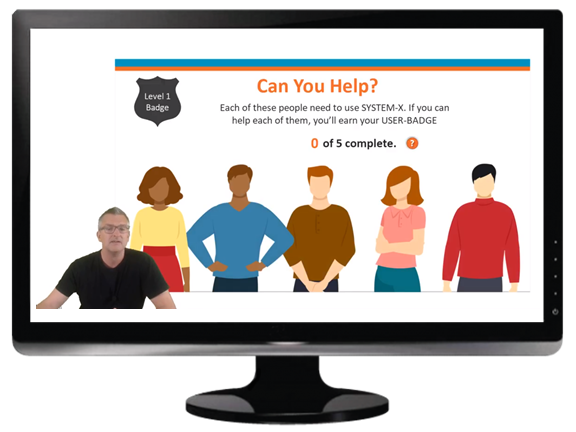 Software Training eLearning Example