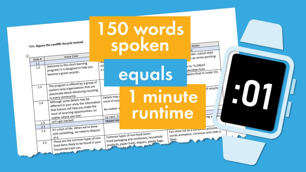 eLearning Script Length