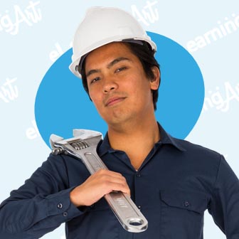 eLearning Characters in Workwear | Industrial Workers