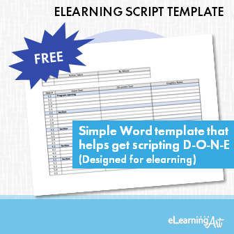eLearning Script Template